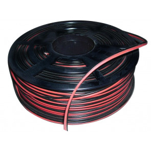 700m. cable paralelo Rojo 2x0,75mm. en carrete