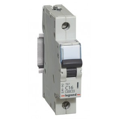 Interruptor automático magnetotérmico 1 polo 10A Legrand (403575)