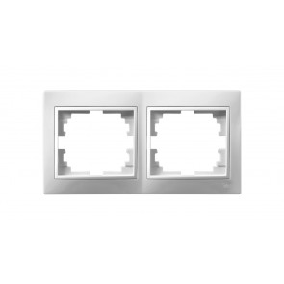 Marco 2 elementos blanco serie Europa Solera (ERP72U)