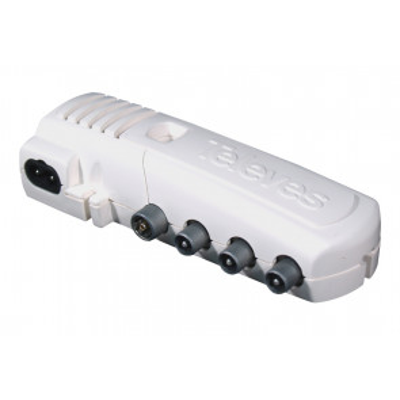 Amplificador de vivienda CEI  5 salidas (4+TV) (Televes 552940) (Blíster)