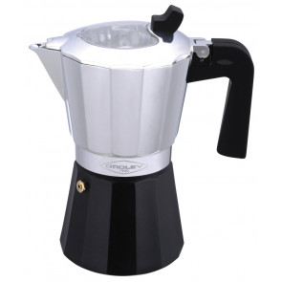 Cafetera de aluminio inducción 3/6 tazas (Oroley 215050300)
