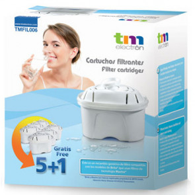 Filtros para jarra Brita 5+1 (TM ElectronTMFIL006)
