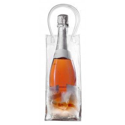Bolsa PVC enfría botellas 26x11cm (Ibili 739801)