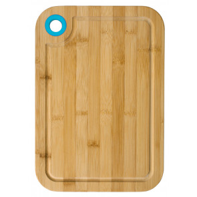 Tabla de madera de bambú reversible 39,5x28cm (Ibili 743040)
