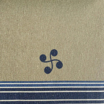 "Mantel tipo hule textil superior gama Fibratex ""Ameztoy Azul"""