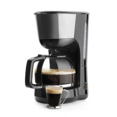 Cafetera de goteo con jarra de cristal 10 tazas 1000W (Lacor 69278)