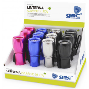 Expositor linternas Led GSC 1600889 - 30x100mm.