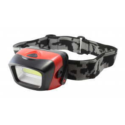 Linterna frontal Led Cob alto brillo 3W (Electro DH 60.340/1)