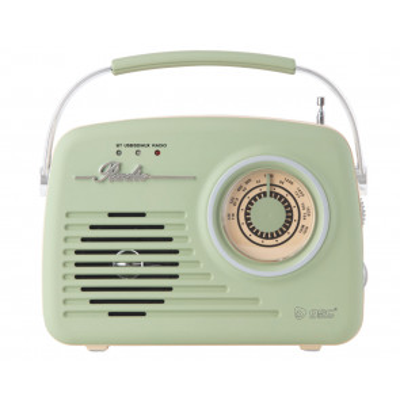 Radio y reproductor portátil Vintage USB / SD / Bluetooth (GSC 405010003)