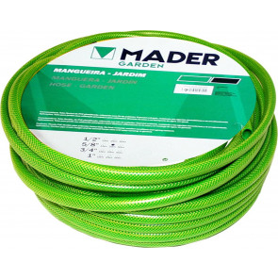 "25 m. de manguera para jardín verde ø5/8"" (15mm) (Mader 44541)"