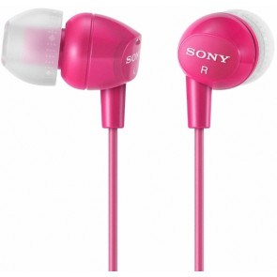 Auriculares intrauditivos rosas (Sony MDREX15RO) (Blíster)