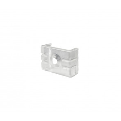 Soporte plástico para perfil de superficie 12,5mm. (Ledesma 54501)
