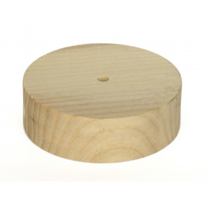 Florón decorativo madera 90x30mm.