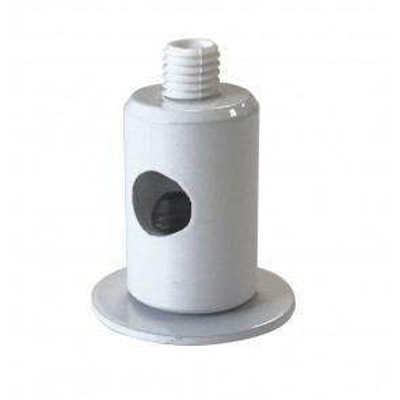 Pasacables metálico blanco (Cordón D'or AISMET/01)