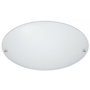 Plafón redondo cristal opal blanco 40W Trio Lighting 6196011-01