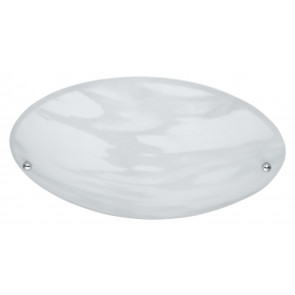 Plafón redondo cristal alabastro blanco 40W Trio Lighting 6196011-07