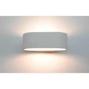 Aplique Led de pared aro  6W 3000°K 425lm 170x110mm. (F-BRIGHT 2074010)