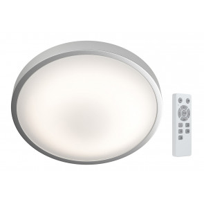 Plafón Led redondo Silara regulable con mando a distancia 21W 88x410mm. (Osram 4058075032996)