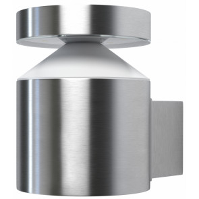 Aplique Endura Style Cylinder Wall de exterior 6W 3000°K níquel IP44 (Osram 4058075032545)