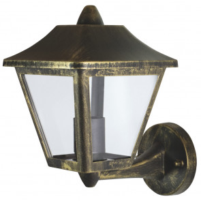 Aplique de exterior de aluminio Tradition Up E27 IP44 oro viejo (Ledvance 4058075206229)