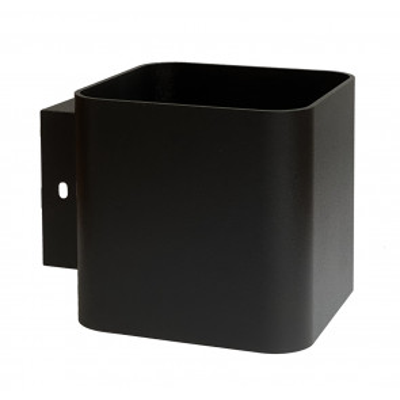 Aplique de pared cuadrado metálico negro G9 4W 3000°K (F-Bright 2076000-N)