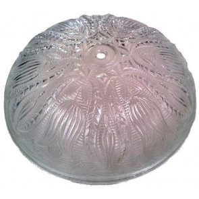 Cristal de recambio tallado ø25cm. para plafón redondo (28035)