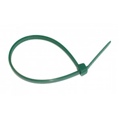 25 ud. bridas de nylon verdes 4,8x200mm. (GSC 0901365)