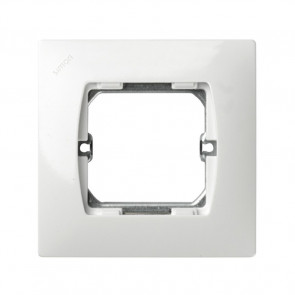 Placa para caja universal blanco 85x85mm. (Simon 27 27601-65)