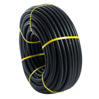 25m. Tubo corrugado Flexiplast 32mm. Negro
