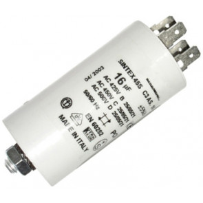 Condensador para aplicaciones especiales con cable 4 (uF)