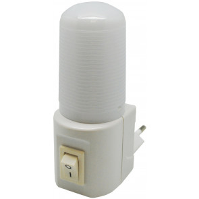 Luz noche Led con interruptor 1W (F-Bright 1101495) (Blíster)