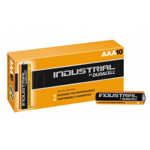 10 uds. pilas Duracell Procell para profesionales alcalina LR03-AAA (Caja)