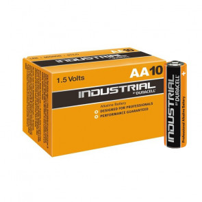 10 uds. pilas Duracell Procell para profesionales alcalina LR06-AA (Caja)