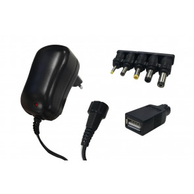 Alimentador universal corriente AC/DC 1000mA con USB
