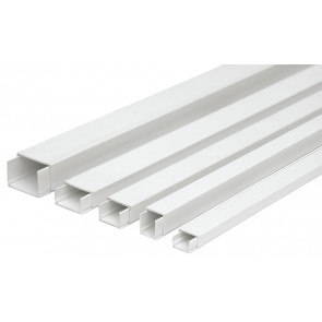 Canaleta a tornillo blanco Legrand 30008 - 12.5x20mm.
