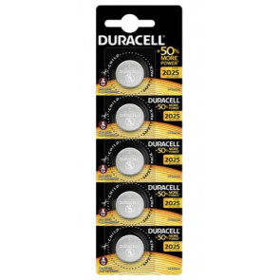 5 ud. pila de botón Duracell CR2016 3V (Blíster)