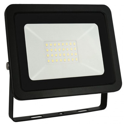 Proyector Led de exterior Noctis Lux negro 30W 6000�K IP65 (Spectrum SLI029039CW)