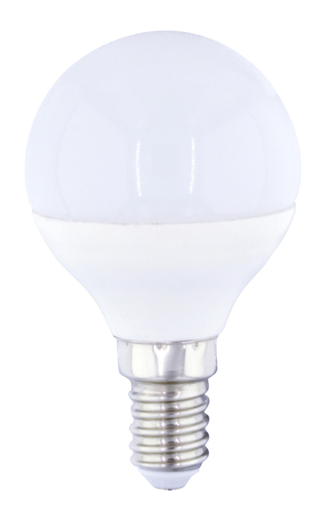 L�mpara esf�rica Led E14 4W 3000�K 320Lm 45x79mm. GSC (2001553)