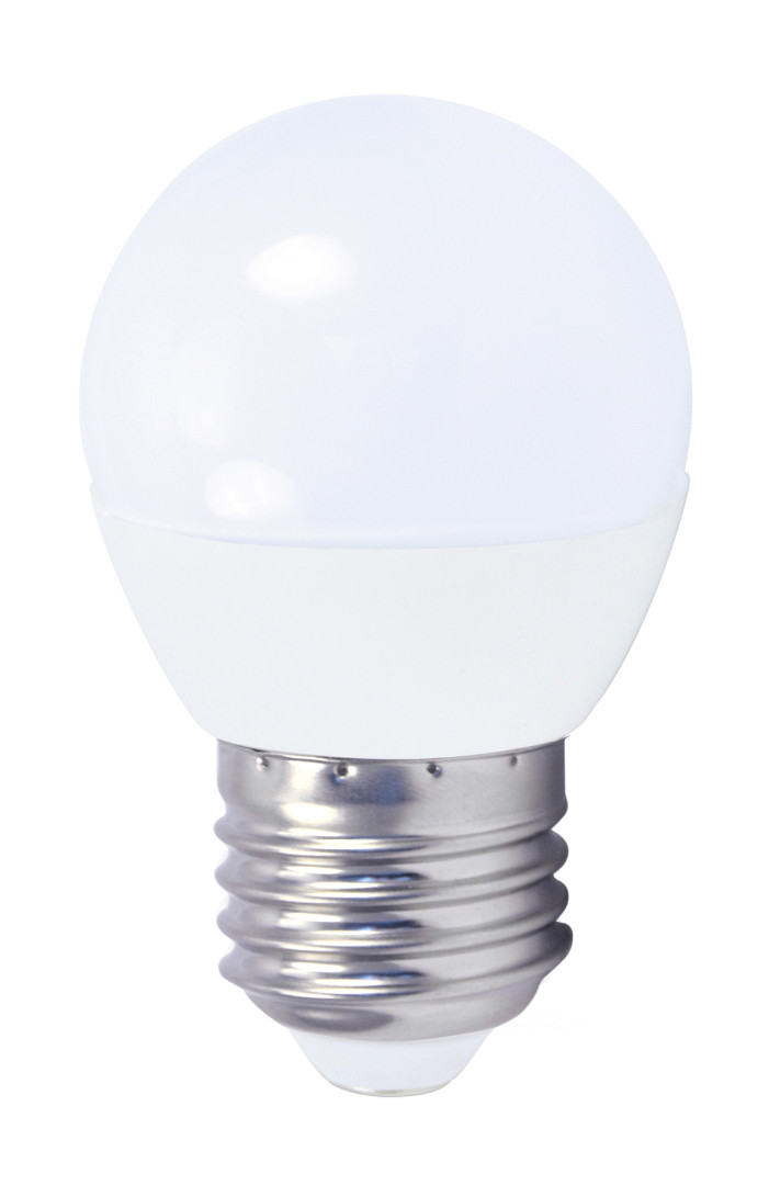 L�mpara esf�rica Led E27 4W 3000�K 320Lm 45x79mm. GSC (2001554)