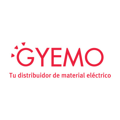 Tira 5 m. cable textil decorativo negro/blanco Zig Zag brillo (CIR62CTS73)
