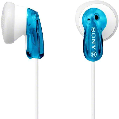Auriculares internos azules (Sony MDRE9A) (Bl�ster)